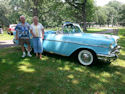 Jeff & Marge's '57 Convertible
