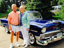 Larry & Cheryl's '56 2 Door Sedan