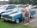 Greg, Deb & Kids '67 Chevy Nova